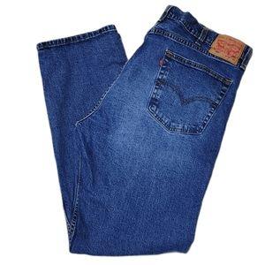 """*Levi's 505 Medium Wash Denim Jeans 39""""x31"""""""